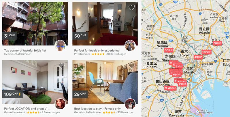 airbnb in japan asienspiegel. Black Bedroom Furniture Sets. Home Design Ideas