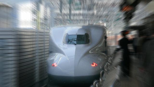 Shinkansen spürt Schweinegrippe