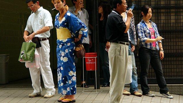 Raucherparadies Japan