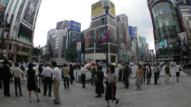 Ginza, das chinesische Einkaufs-Mekka