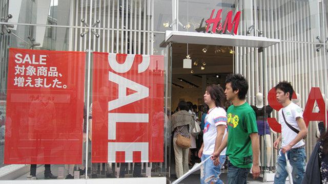 Japan im H&M-Fieber