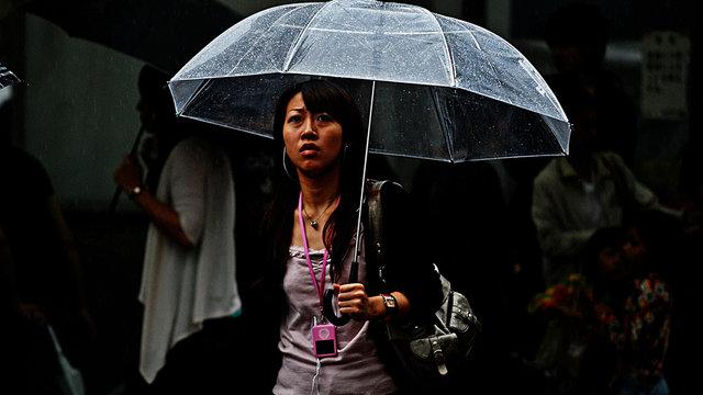 Modische Schirme gegen die Wegwerfkultur