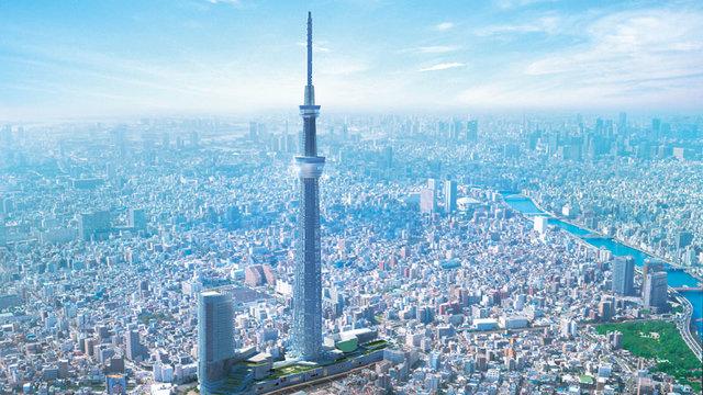 Ein neues Wahrzeichen für Tokio