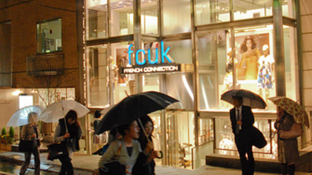FCUK verlässt Japan