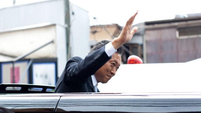 Hatoyamas Zustimmungsrate fällt