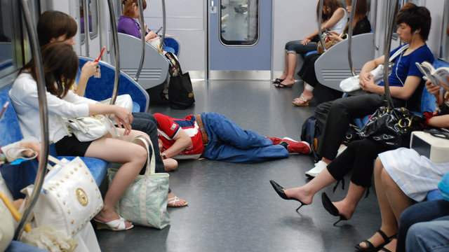 Die schlechtesten Zugmanieren