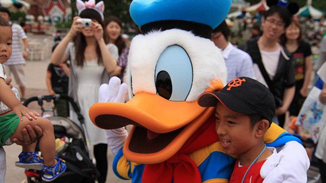 Asien ist verrückt nach Disneyland