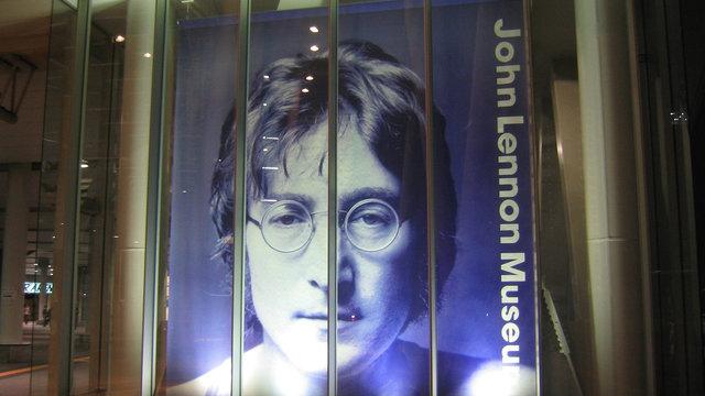 Das John-Lennon-Museum schliesst seine Pforten