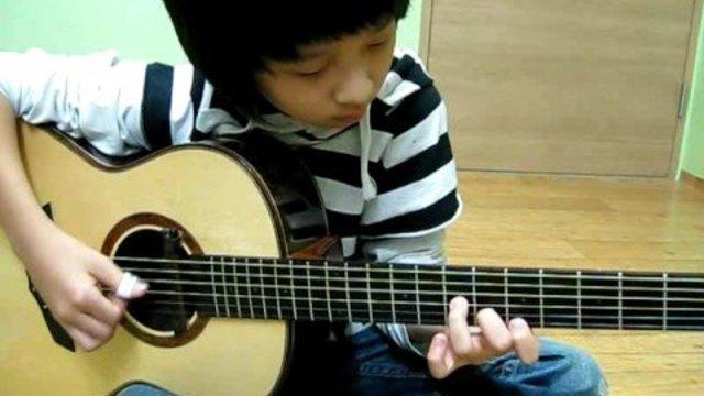 Ein 14-jähriger Gitarrengott