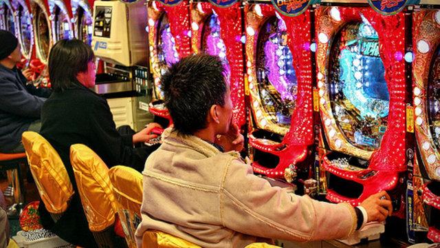 Mit dem Kindergeld in die Spielhalle