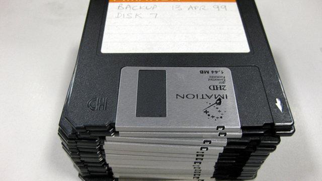 Der Anfang vom Ende der Diskette