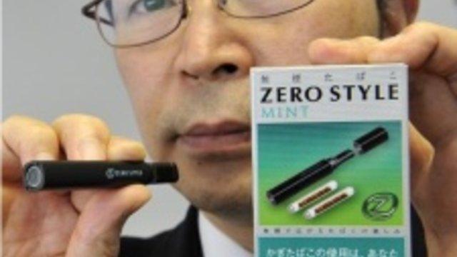 Die rauchfreie Zigarette wird zum Verkaufserfolg
