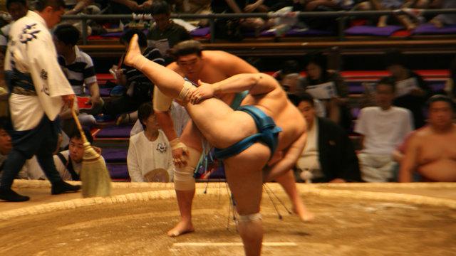 Die Verstrickungen zwischen Sumo und Yakuza