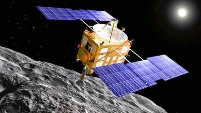 Japanische Sonde kehrt von Asteroid zurück