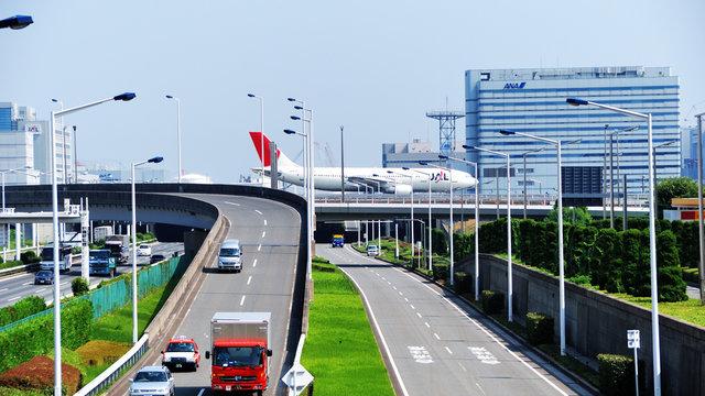 Der Flughafen Haneda hat Zeitprobleme
