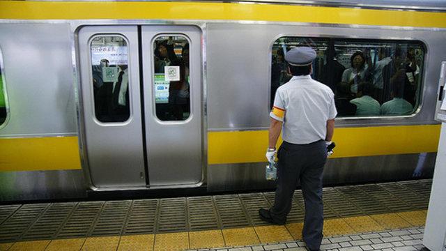 Ein Karate-Kurs für Bahnangestellte