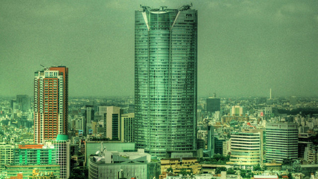 Der Wolkenkratzer mit den grossen Namen