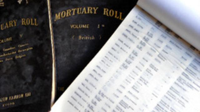 Todesregister aus dem 2. Weltkrieg aufgetaucht