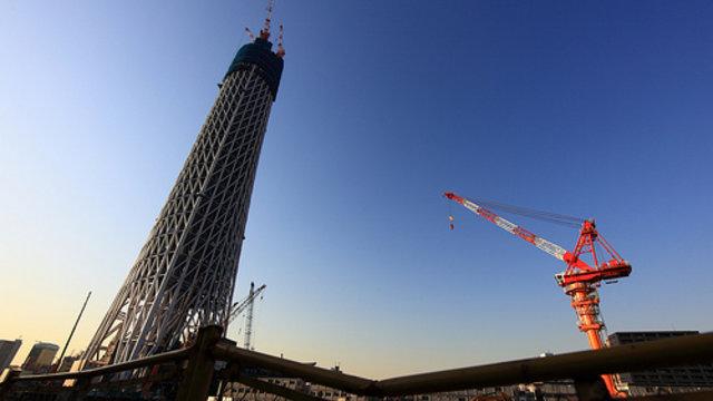 Tokyo Sky Tree: Keine Yakuza erwünscht