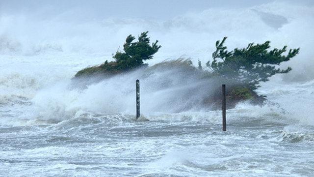 Wie ein Taifun bekämpft wird