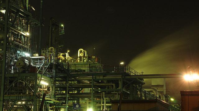 Schöne Industrielandschaften