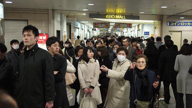 Wenn in Tokio die Erde bebt
