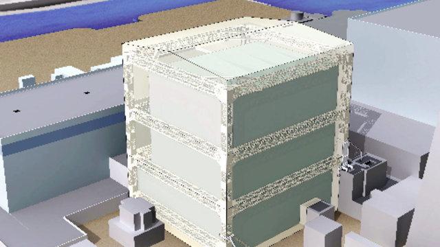 Schutzhüllen für die Reaktoren