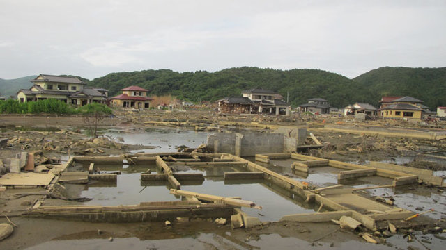 Vier Monate nach dem Tsunami