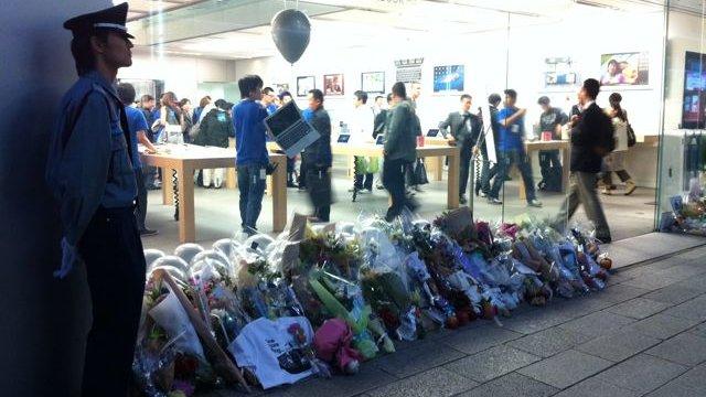 Japan verneigt sich vor Steve Jobs
