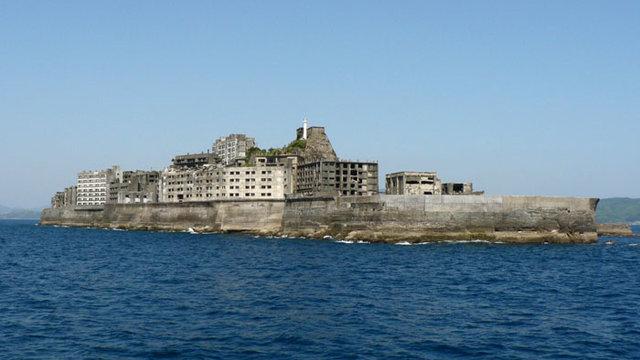 Die Schlachtschiff-Insel