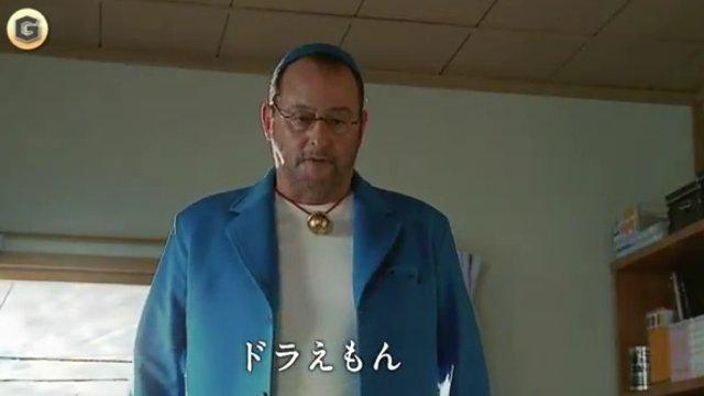 Jean Reno ist Doraemon