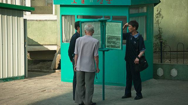 Nordkoreas Zeitungsrevolution