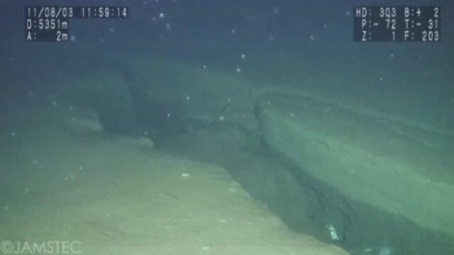 Der aufgebrochene Meeresboden