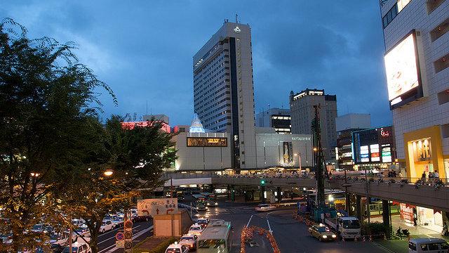 Boomstadt Sendai