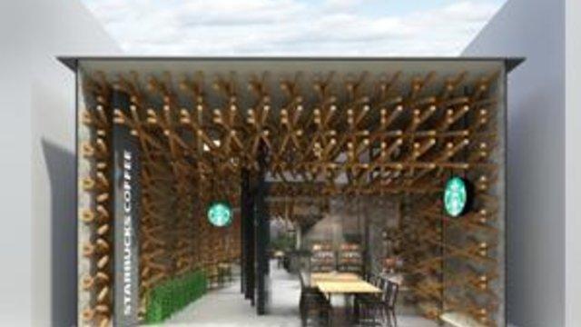 Der Starbucks-Schrein