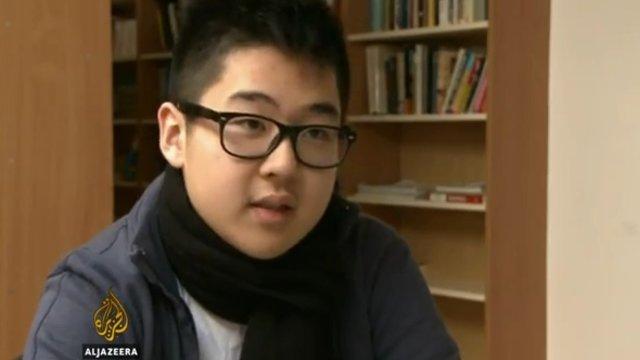 Kim Jong-ils weltoffener Enkel