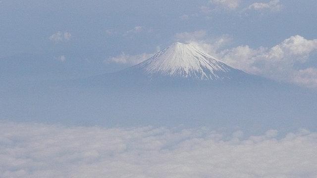 Der Fuji in Bewegung