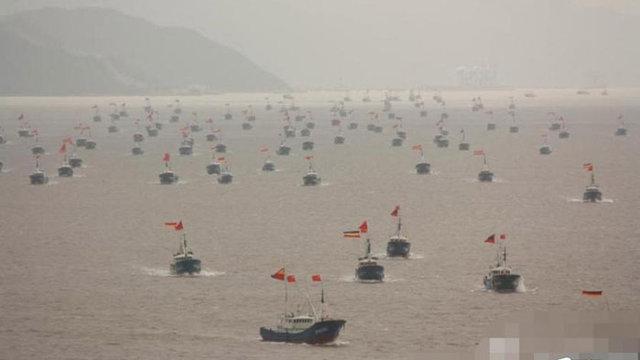 Chinas Fischerboot-Armada