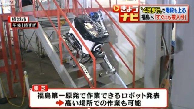 Ein Roboter für Fukushima