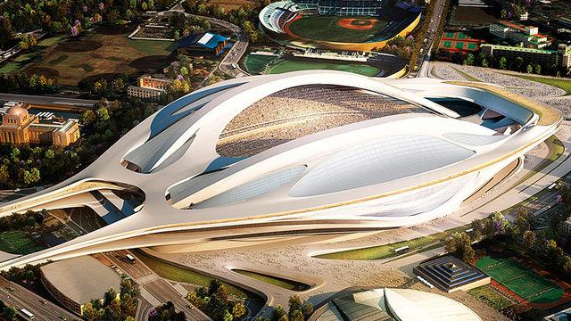 Tokios futuristisches Stadion