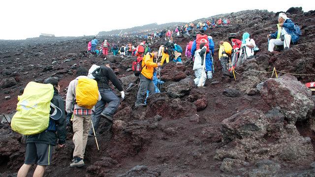 Eine Gebühr für den Fuji