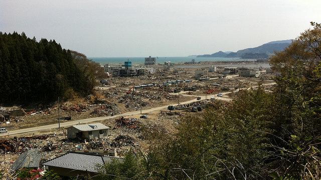Einem Tsunami ausgeliefert