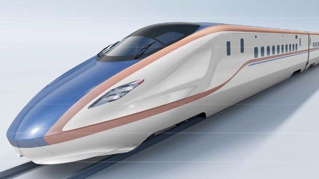 Eine Shinkansen-Premiere