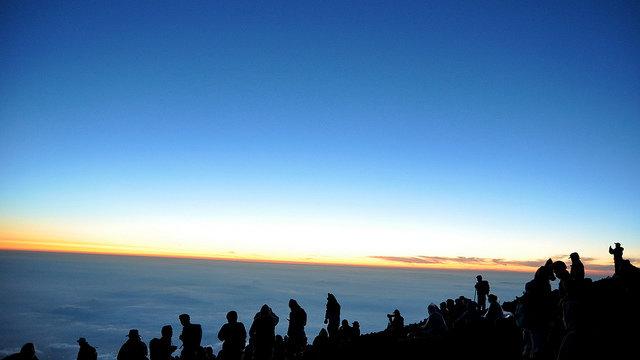 Der Preis für die Fuji-Besteigung