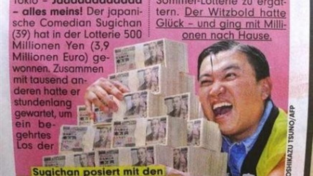 Der falsche Lottogewinner