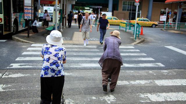 Japans Frauen überleben alle
