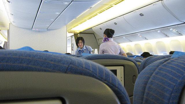 Die Aufwertung der Flugbegleiterin