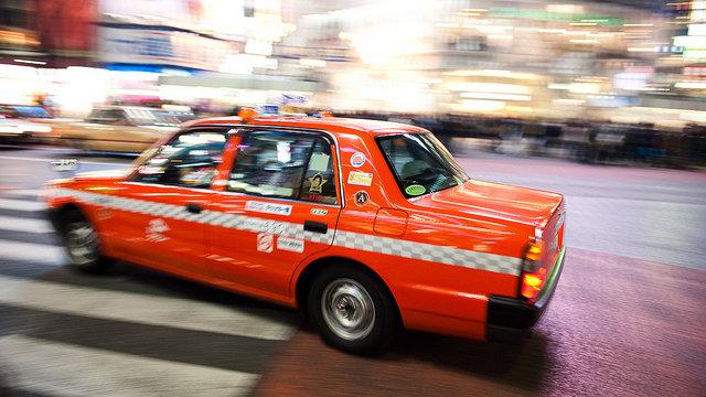 Tokios kreative Taxis