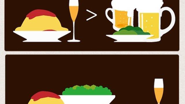 Gut essen anstatt saufen