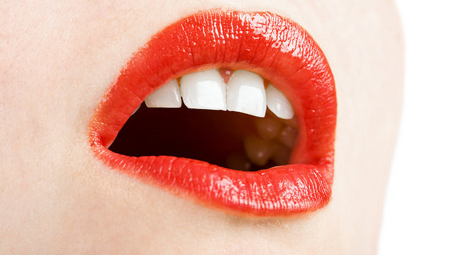 Rote Abenomics-Lippen